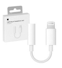 Apple Lightning to Headphone Jack Adapter (A1749) white