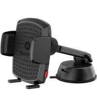Arroys Dash Max Auto, телескоп. штанга, широкие зажимы для телефонов в чехлах-книжках, black