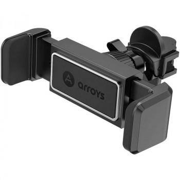 Автомобильный держатель Arroys Vent-C1 black