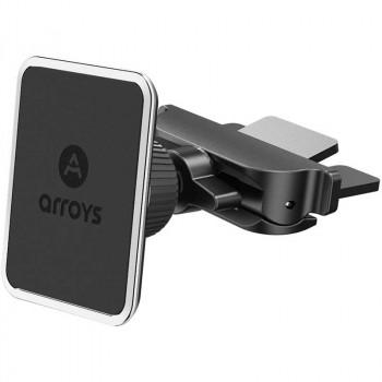 Магнитный держатель смартфона в CD слот Arroys CD-SM1 black