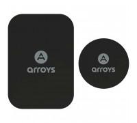 Arroys Metal Plate Set, комплект из 2-х пластин, black