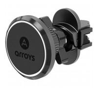 Arroys Vent RM1, магнитный, в решетку, black