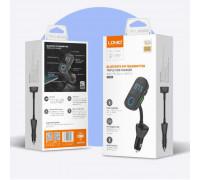 LDNIO C705Q Bluetooth FM Transmitter, 2USB QC3.0 + 1A Auto-ID&U-disk, PD 18w, input AUX, cable USB-C
