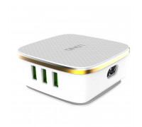 LDNIO 35W на 6 USB (1xQC 3.0), на проводе (A6704)