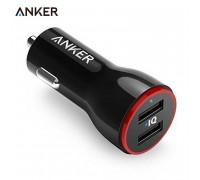 Anker PowerDrive 2 24w 4.8A 2USB (A2310G11) black