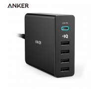 Anker PowerPort+ 5 USB-C 60W with Power Delivery (A2053L11)