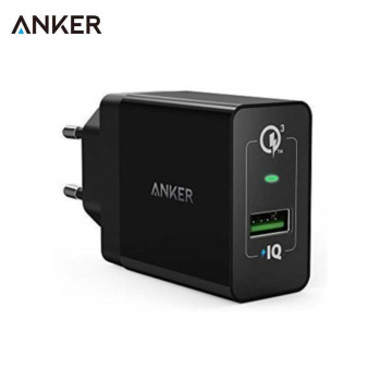 Сетевое зарядное устройство Anker 18W 3A PowerPort+ Wall Charger with Quick Charge 3.0 (A2013L11)