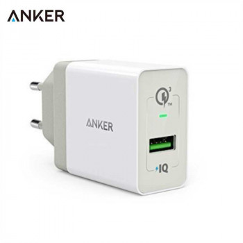 Сетевое зарядное устройство Anker 18W 3A PowerPort+ Wall Charger with Quick Charge 3.0 (A2013L21) White