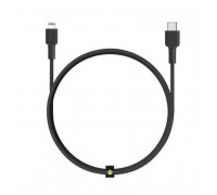 Aukey Impulse Braided cable CL1, 1.2m Braided USB-C to Lightning Cable, MFI, 1.2m  (CB-CL1) black