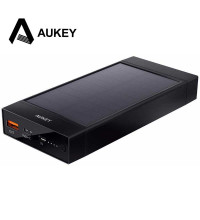 Aukey 16000mah USB-C Solar Power Bank with QC3.0 (PB-P23)