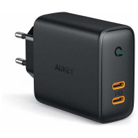 Aukey 36W Dual-Port PD Wall Charger with Dynamic detect (PA-D2)