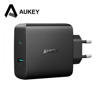 Сетевое зарядное устройство Aukey PA-Y10 56W USB-C Wall Charger with Power Delivery 3.0