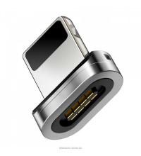 Baseus Zinc Magnetic Converter, 8pin, магнитный коннектор (CATXC-E) silver