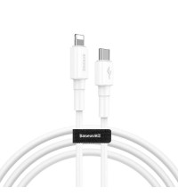 Baseus Mini White Cable, Type-C to Lightning, 1m, 18W (CATLSW-02) white