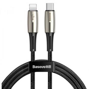 Кабель  Baseus Waterdrop Cable Type-C to iP PD 18W (CATLRD-01) 1.3m