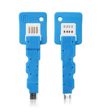 Baseus Keys, microUSB, 0.07m (CAMICRO-KE03)  blue