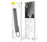 Baseus Enjoyment Series CATSX-G0G 11in1 Type-C Notebook HUB Adapter (C-C3UE2HVMS01)