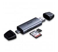 Baseus Lentil-Cabin Type-C & USB 3.0 TF/SD Card Reader (CADKQ-B0G)