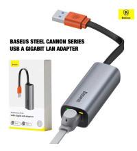 Baseus Steel Cannon Series LAN Adapter, USB to 1GBps LAN (CAHUB-AD0G)