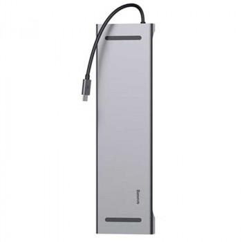 Адаптер Baseus USB HUB 10 in 1 USB C to HDMI VGA RJ45 SD/TF Card Reader USB Splitter