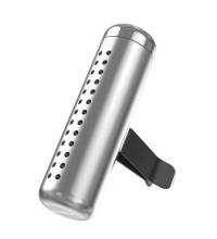 Baseus Horizontal Chubby Car Air Freshener, ароматизатор (SUXUN-PDC0S) silver