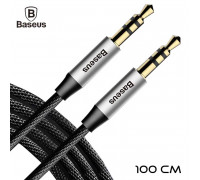 Baseus Yiven M30 Audio Cable, 1m (CAM30-BS1) silver