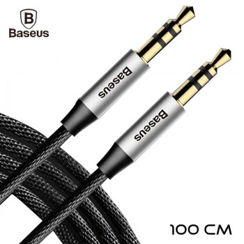 Baseus Yiven Audio Cable M30 1m Black (CAM30-BS1)