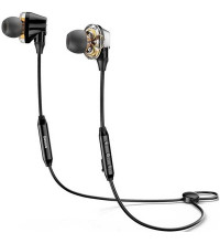 Baseus S10 Dual Moving-coil Wireless Headset (NGS10-01), black