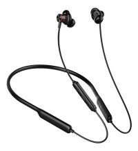 Baseus S12 Wireless Headset, жесткая дуга на шею (NGS12-01) black