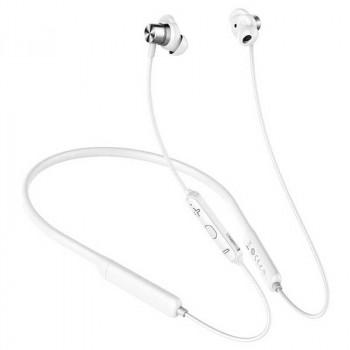 Baseus S12 Wireless Headset, жесткая дуга на шею (NGS12-02) white