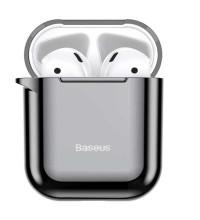 Baseus Shining Hook Case, for Pods 1/2 gen, с карабином (ARAPPOD-A01) черный
