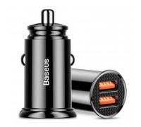 Baseus BS-C16Q1 30W Dual QC Car Charger  (CCALL-YD01) black