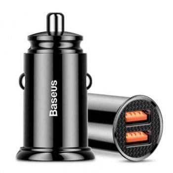 Автомобильное зарядное устройство Baseus BS-C16Q1 Dual USB QC3.0 30W Max. Car Charger