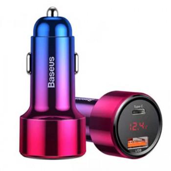 Автомобильное зарядное устройство Baseus BS-C20C PPS Quick Charging Car Charger 45W Max red