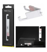 Baseus Portable Mini Phone Holder, подставка на стол  (SUPM-24) white