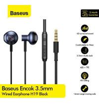 Baseus Encok H19 Wired Earphone (NGH19-03) blue