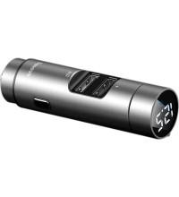 Baseus Energy Column Car Wireless MP3 Charger, 3.1A (CCNLZ-0G) grey