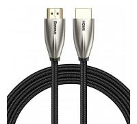 Baseus Horizontal HDMI, 2m, 4KHD (4K@60Hz), V2, 3D, в оплетке, (CADSP-B01) черный
