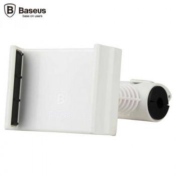 Держатель для телефона на подголовник Baseus Happer Series White (SUGENT-HP02)