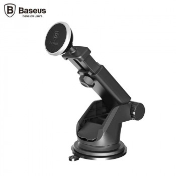 Магнитный держатель Baseus Telescopic Design Mechanical Era Car Mount Silver (SULX-0S)