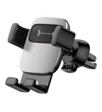 Baseus Cube Gravity Vehicle-Mouted Holder (SUYL-FK0S) silver