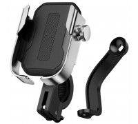 Baseus Armor Motorcycle Holder (Applycable for Bicycle)(SUKJA-01) black