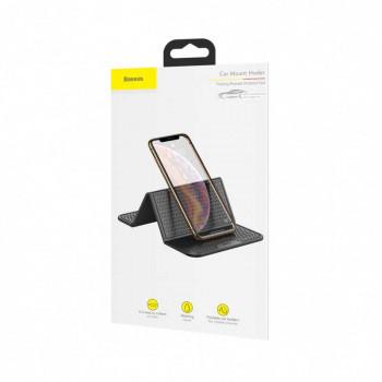 Baseus Folding Bracket Antiskid Pad,  коврик на торпеду или стол (SUWNT-01) black