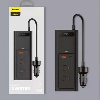 Baseus In-car Inverter 150W (110V US/JP) CRNBQ-01 Black