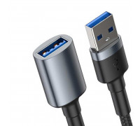 Baseus Cafule USB 3.0 male to USB 3.0 Female Cable, 2A, 1m, 5Gbps, удлинитель USB (CADKLF-B0G)