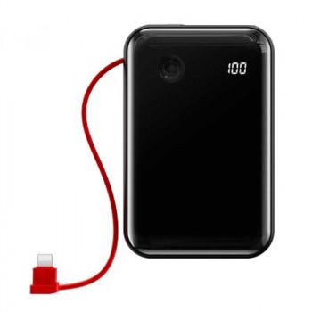 Внешний аккумулятор Baseus Mini S Digital Display 3A Power Bank (With IP Cable) 10000mAh (PPXF-B01, PPXF-B09)