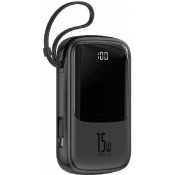 Внешний аккумулятор Baseus Qpow Digital Display 3A Power Bank 10000mAh 15W PPQD