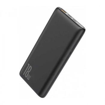 Baseus Bipow Quick Charge Power Bank 10000 mah, QC3.0 + PD 18w (PPDML-01) black