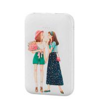Baseus Mini JA X10 for Sweet Power Bank 10000 mah, девочки со сладкой ватой (PPX10-MA02) white