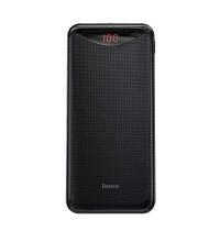 Baseus Gentleman Digital Display Power Bank 10000 mah, 2.1A (PPLN-A01) black
